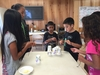 Photo of Lanai children participating in activity at Lanai Youth Center.
