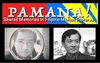 Graphic of Pamana film festival with two screenshots of people.